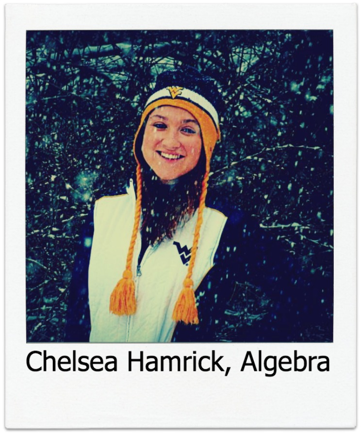 Chelsea Hamrick, Algebra Student