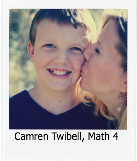 Camren Twibell, 4th Grade Math