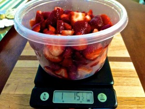 Weigh Strawberries