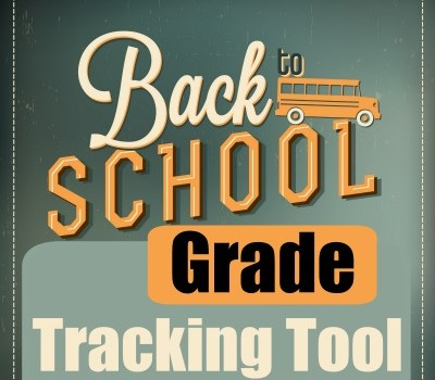 Back to School – Grade Tracking Tool
